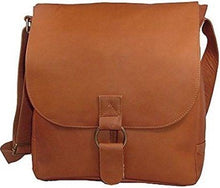 Load image into Gallery viewer, 187 - VERTICAL LAPTOP MESSENGER BAG, LARGE RING