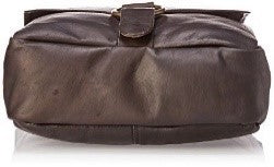 187 - VERTICAL LAPTOP MESSENGER BAG, LARGE RING
