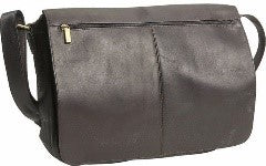 189 - East/West Full Flap Over Messenger Bag