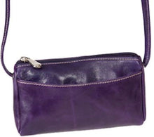 Load image into Gallery viewer, 3501 - Florentine Top Zip Mini Bag For that Italian leather look!