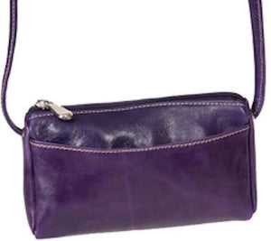 3501 - Florentine Top Zip Mini Bag For that Italian leather look!