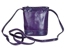 Load image into Gallery viewer, 3512 - Florentine Top Zip Main Compartment Mini Bag For that Italian leather look!