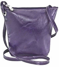 Load image into Gallery viewer, 3524 - Florentine Top Zip Small Bucket Bag