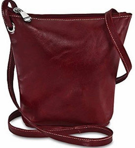 3524 - Florentine Top Zip Small Bucket Bag