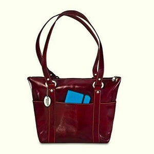 3543 - Florentine 6 Pocket Shopper For that Italian leather look!