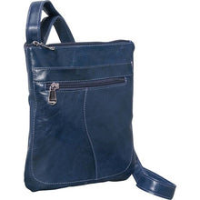 Load image into Gallery viewer, 3598 - Florentine Slender Shoulder bag For that Italian leather look!