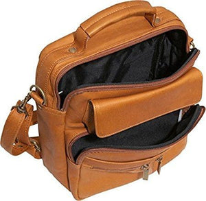 454 - LARGE CROSS BODY BAG WITH TOP HANDLE