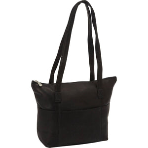 543 - Top Zip Shopping Tote, 6 Outside Pockets
