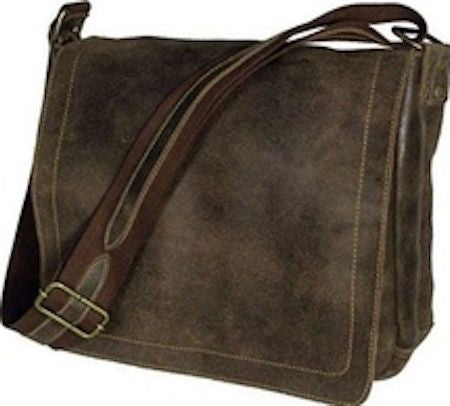 6111 - Distressed Medium Laptop Full Flap