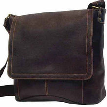 Load image into Gallery viewer, 6188 - Distressed Vertical Simple Messenger Bag
