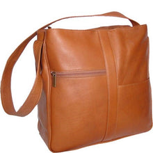 Load image into Gallery viewer, 820 - Double Top Zip Shoulder Bag