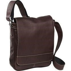 8471 - PREMIER MEDIUM FLAP OVER MESSENGER BAG