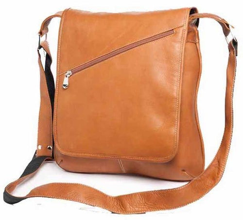 8473 - PREMIER SLIM MEDIUM MESSENGER BAG
