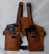 Load image into Gallery viewer, T-tracs® Black, Nappa Leather Body Holster