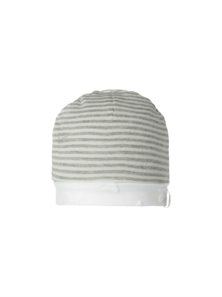 Noppies Unisex Reversible Infant Hat- White