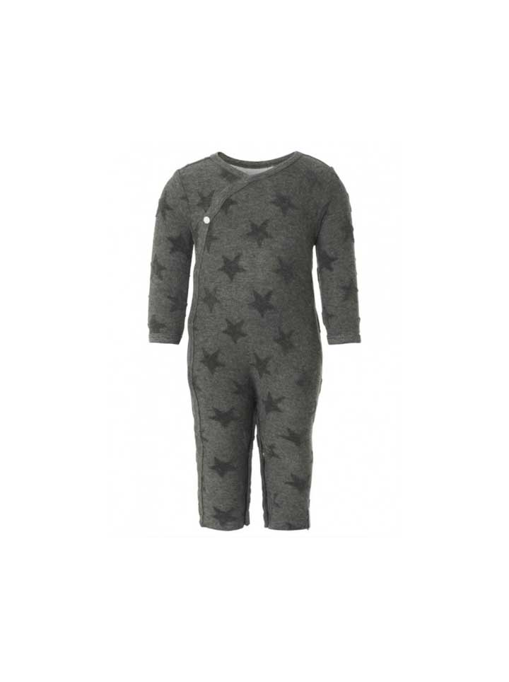 Noppies Unisex Playsuit- Grey Stars