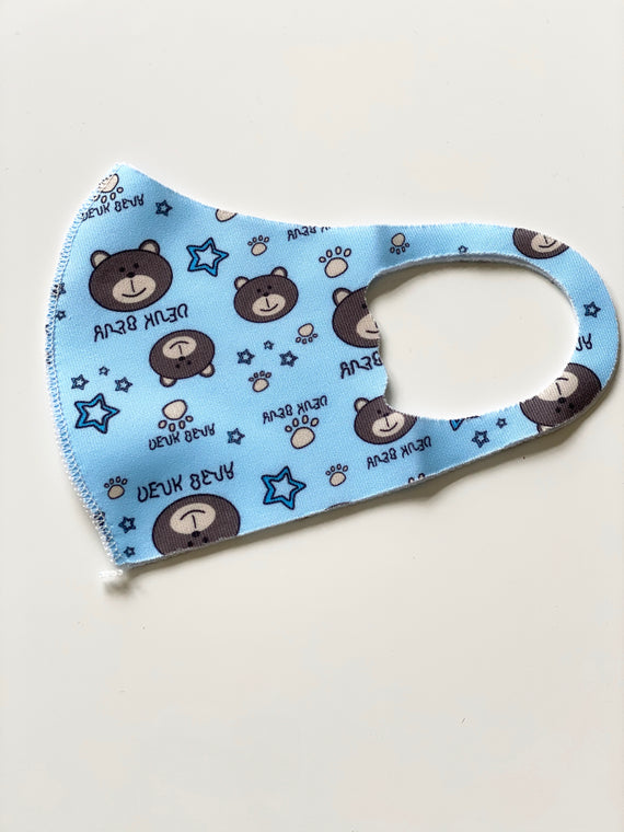 Reusable Children's Face Mask-Bear
