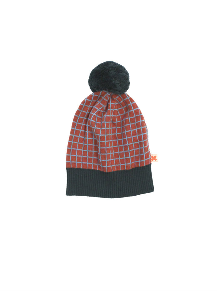 Tiny Cottons Grid Beanie