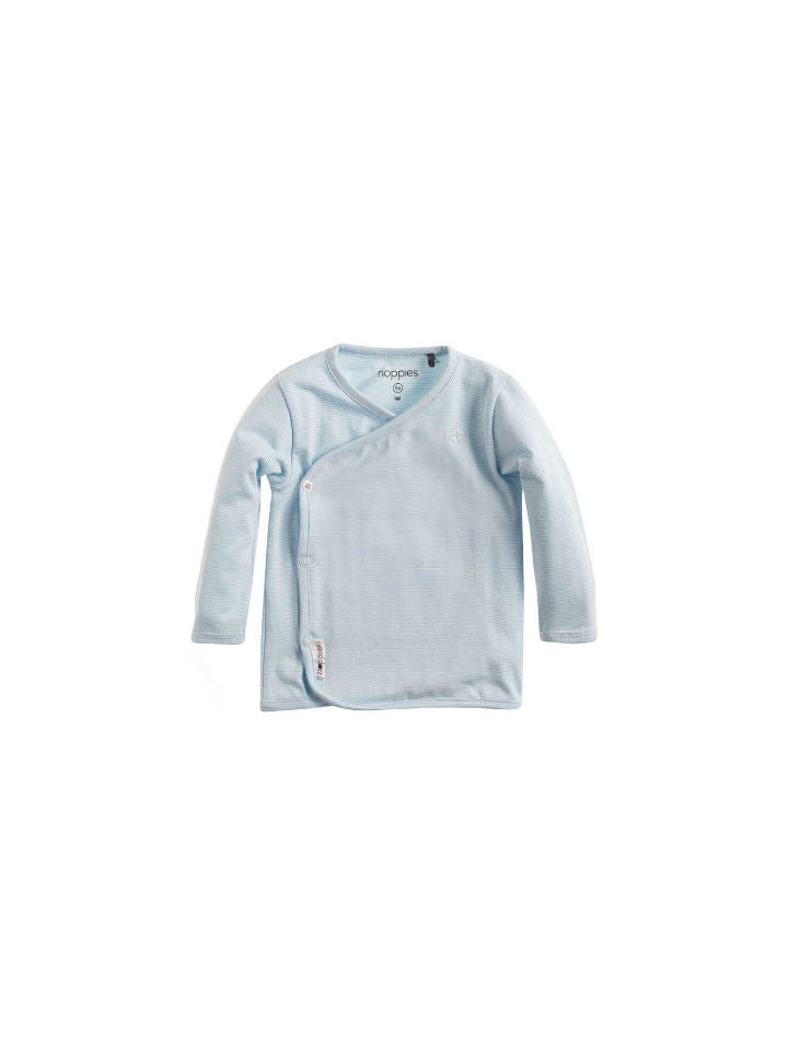 Noppies Boys Tee Smal - Light Blue