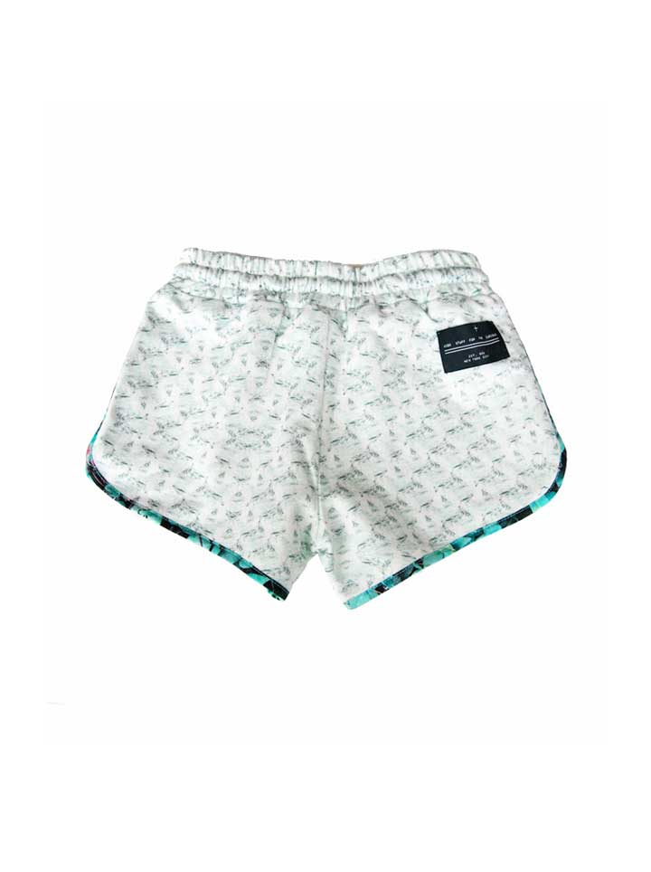 Agatha Cub Runner Short - Cow Mint