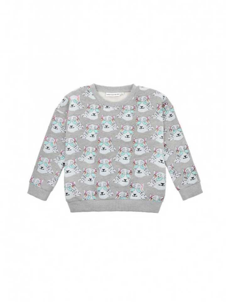 Gardner and the Gang Classic Sweatshirt- Steve the Snow Leopard