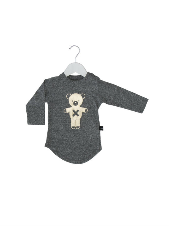 HuxBaby Organic Soldier Bear Top