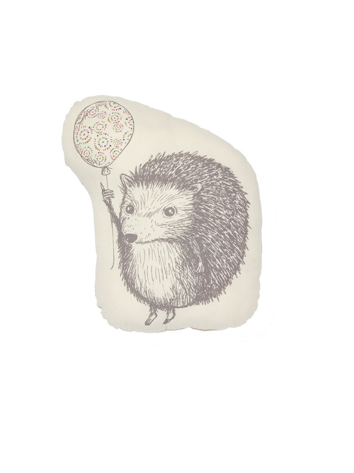 Petit Pehr Up Up and Away Hedgehog Pillow