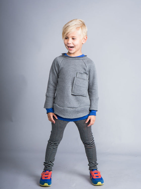 Joah Love Kasper Sweatshirt- Grey
