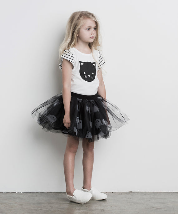 HuxBaby Black Tulle Skirt