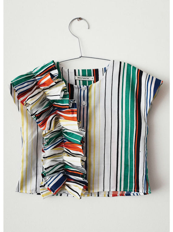 Wolf & Rita Marisa Blouse-Stripes