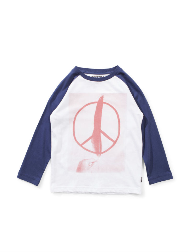 Munster Kids Peace Feather L/S Tee