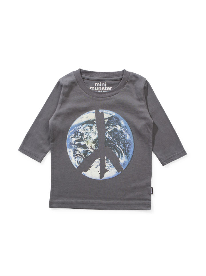 Mini Munster Peace L/S Tee