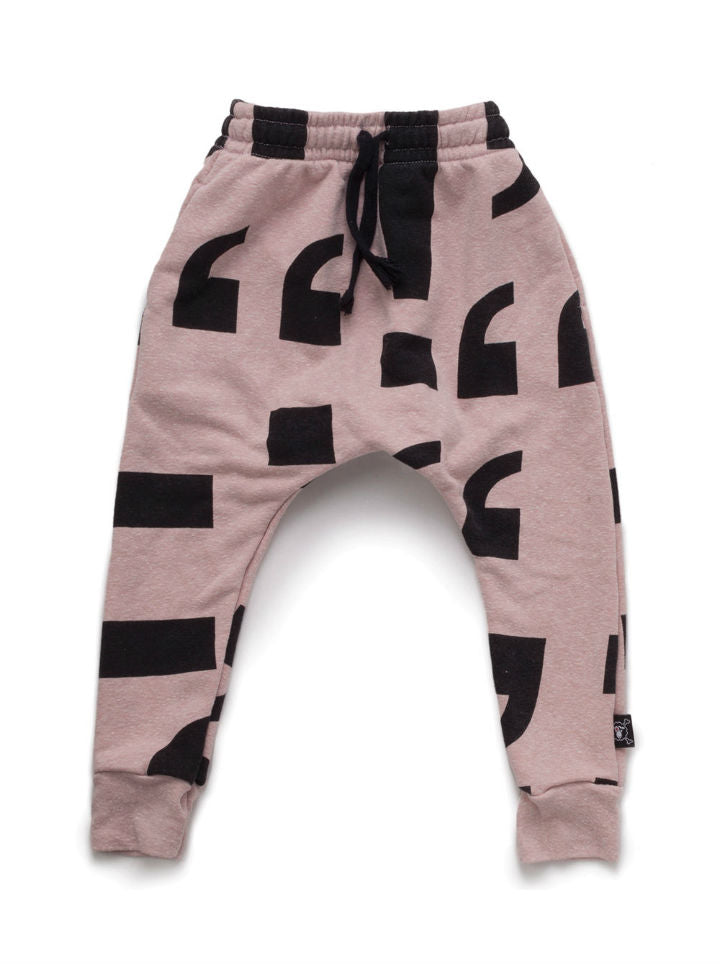 Nununu Punctuation Baggy Pants