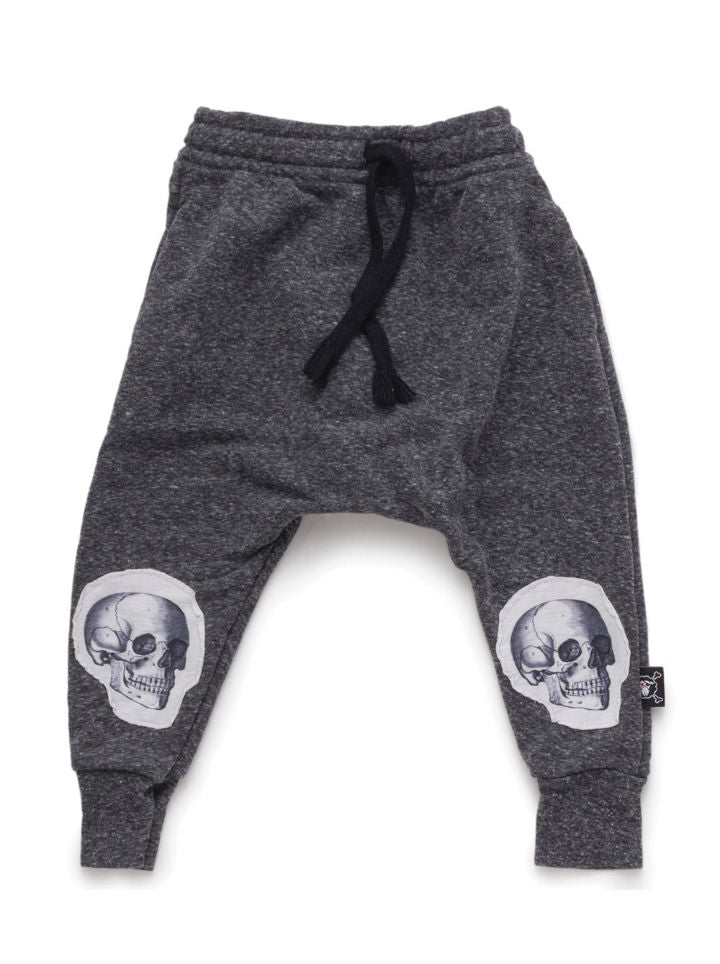 Nununu Md Skull Baggy Pants