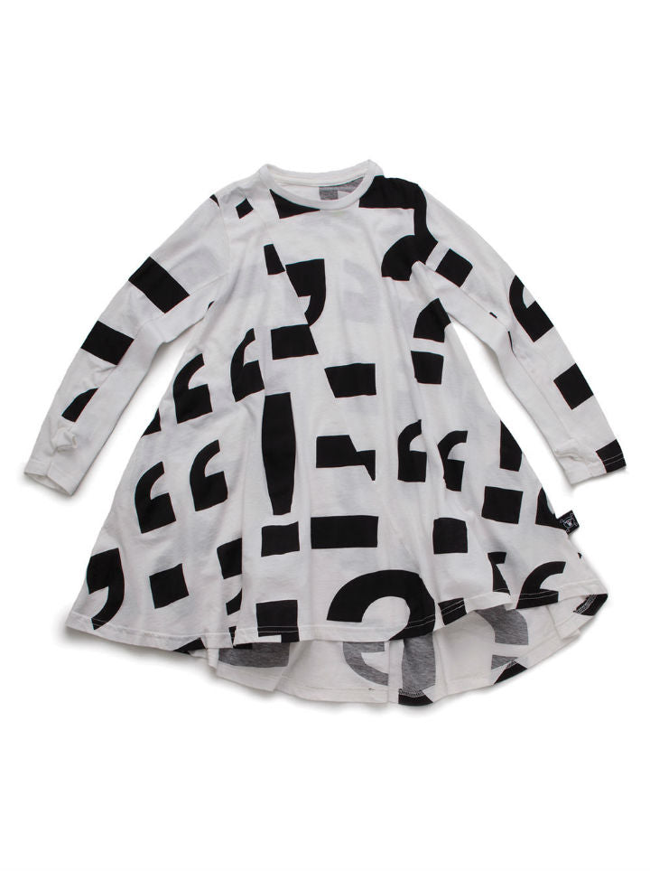 Nununu 360 Punctuation Dress
