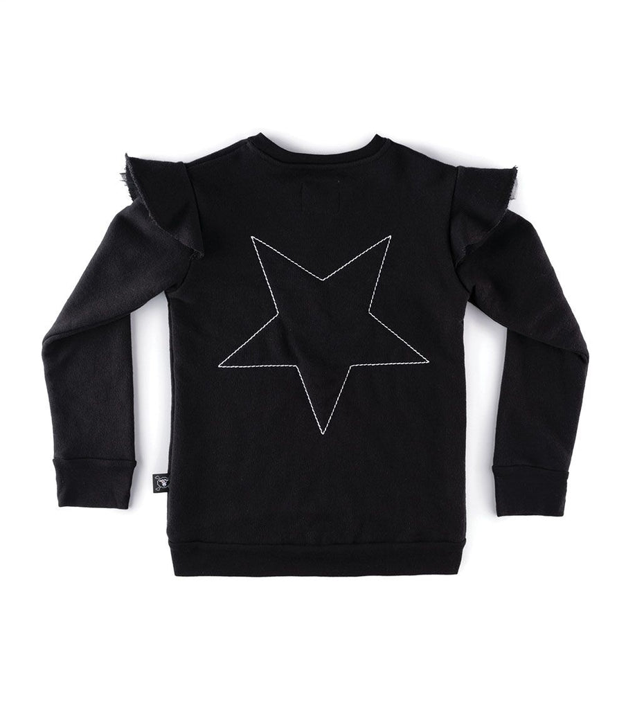 Nununu Embroidered Star Sweatshirt
