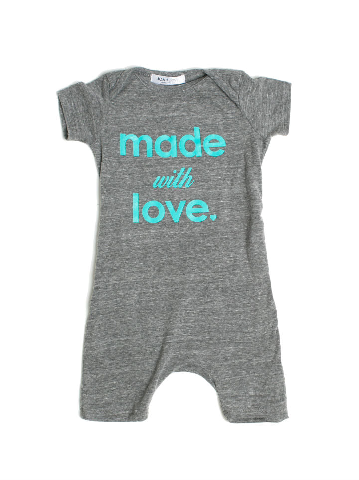"Joah Love ""Made with Love"" Playsuit"