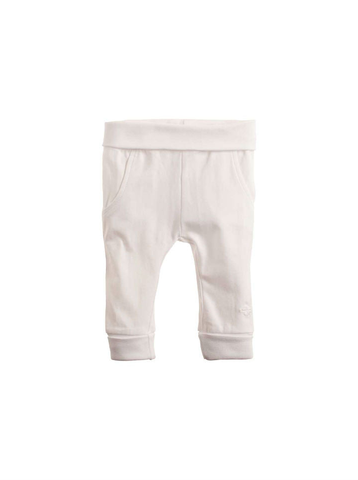 Noppies Unisex Pants Jersey Humpie - White