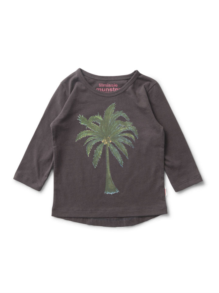 Munster Kids Lil Missie Palm Tree Shirt
