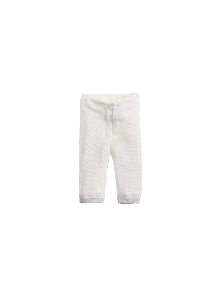 Noppies Unisex Pants Knit Reg Grover - White