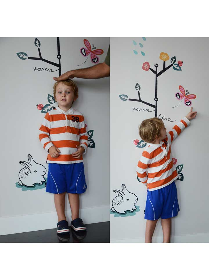 Wee Gallery Growing Like a Weed Growth Chart Wall Decal