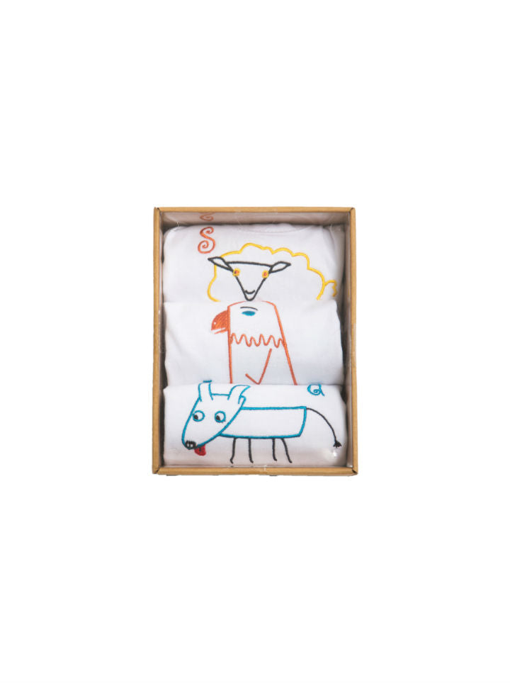 Coccolare Baby Cotton Tank- Sasha the Sheep
