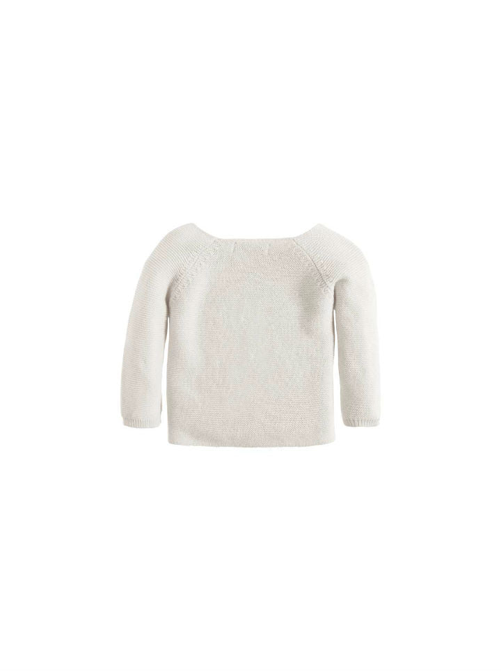 Noppies Unisex Cardigan Knit Pino - White