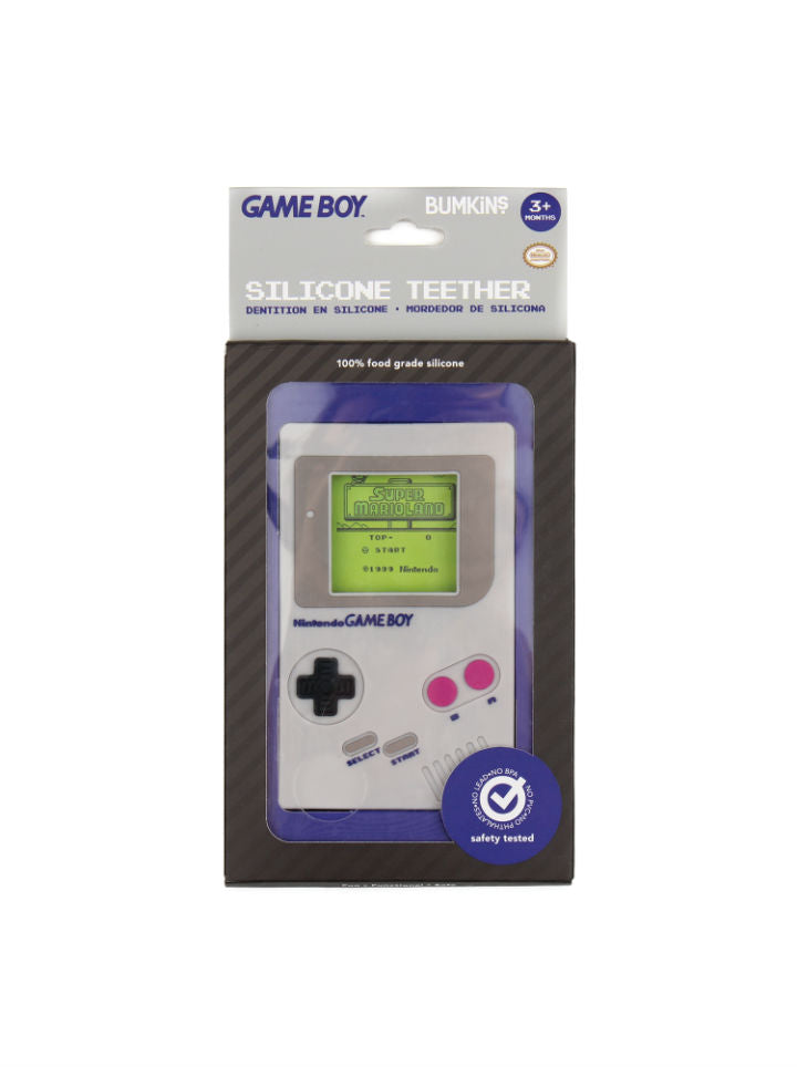 Gameboy Silicone Teether