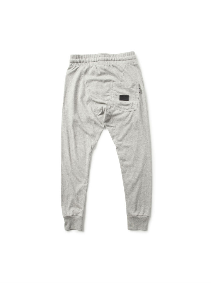 Munster Kids Jersey Cruz Track Pants- Grey