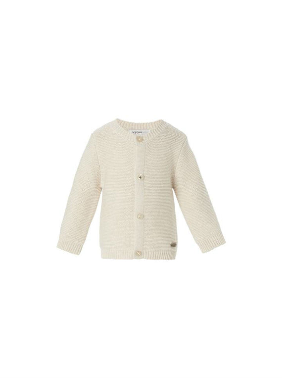 Noppies Unisex Knit Cardigan- Sand