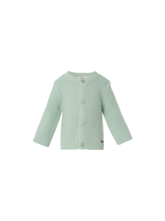 Noppies Unisex Knit Cardigan- Mint