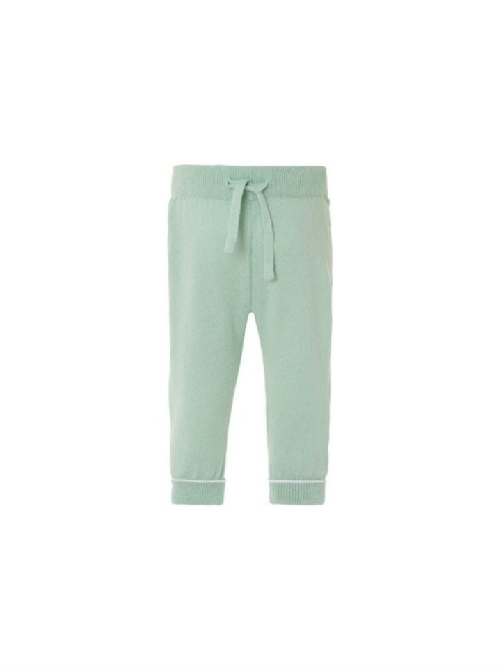 Noppies Unisex Knit Pant- Mint