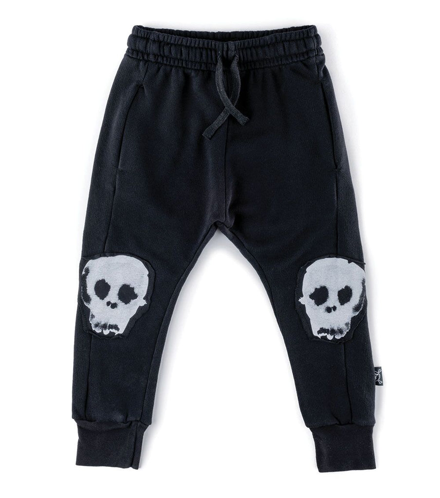 Nununu Skull Patch  Baggy Pants