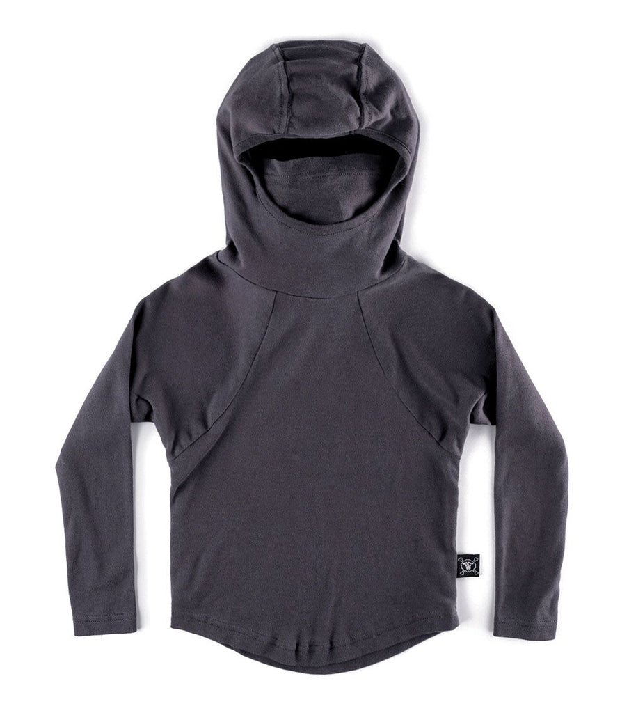 Nununu Ninja Hooded Shirt- Iron